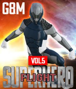 SuperHero Flight for G8M Volume 5