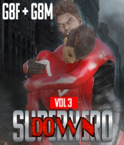 SuperHero Down for G8F and G8M Volume 3