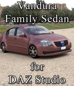 Vandura Family Sedan (for DAZ Studio)