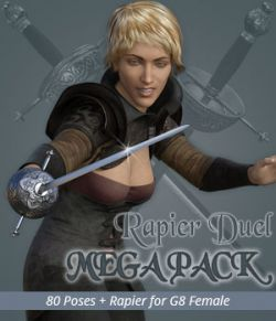 RAPIER DUEL MEGAPACK for Genesis 8 Female