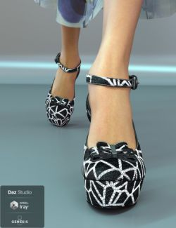 Jiwoo Platform Heels for Genesis 8 Female(s)