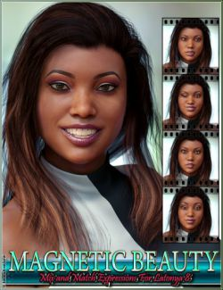 Magnetic Beauty Mix and Match Expressions for Latonya 8 and Genesis 8 Female(s)