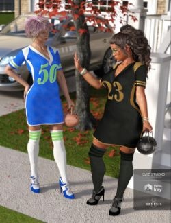 Sports Diva Outfit Textures