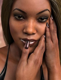 Nail Bar for Genesis 3 and 8 Female(s)