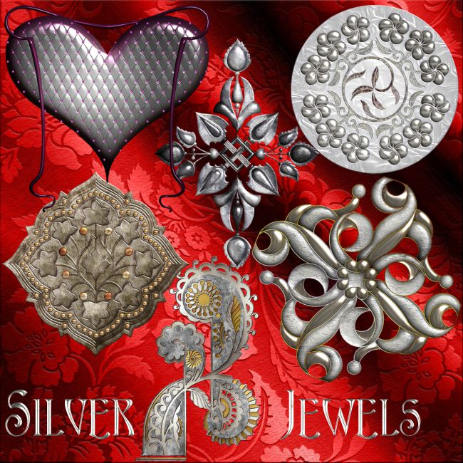 Harvest Moons Silver Jewels