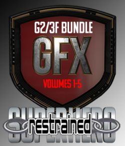 SuperHero Restrained Bundle for G2F and G3F