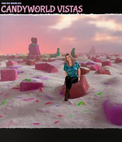 Macro Worlds: Candyworld Vistas