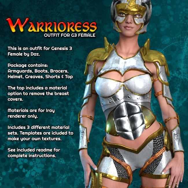 Exnem Warrioress for G3 Female
