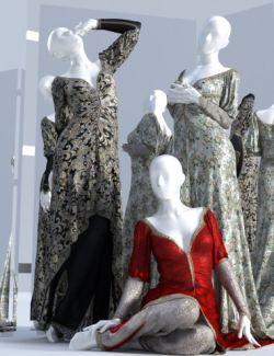 dForce Duchess Dress Textures