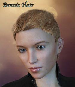Bennie Hair For G3/G8 Daz