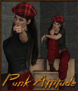 Punk Attitude - Poses for G3F-G8F-V7