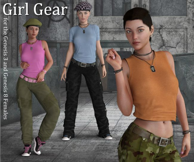 Girl Gear for the G3 and G8 Females