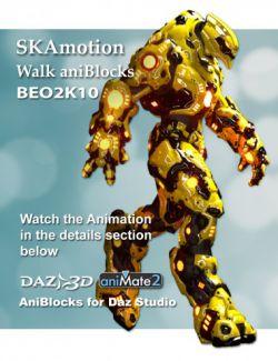 BEO2K10 Walk aniBlock
