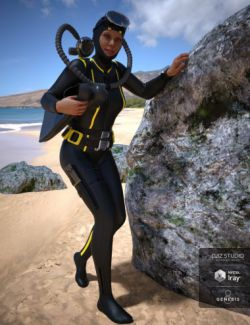 Vintage Scuba Gear for Genesis 8 Female(s)