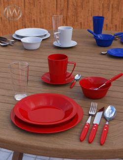 JW Dinnerware Set