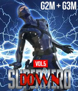 SuperHero Down for G2M and G3M Volume 5