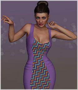 Feminine for 2Tone Dress
