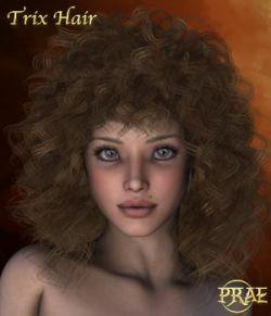 Prae-Trix Hair V4/M4 Poser