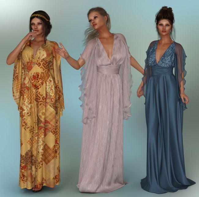 dForce - Lilium Dress for G8F