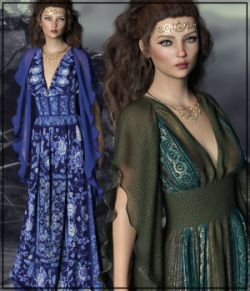 Epic: dForce- Lilium Dress for G8F