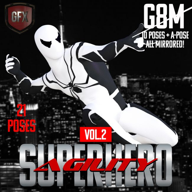 SuperHero Agility for G8M Volume 2