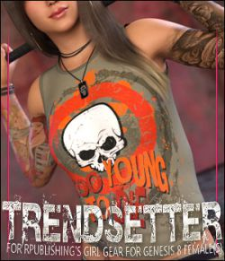 Trendsetter for Girl Gear for Genesis 8 Females