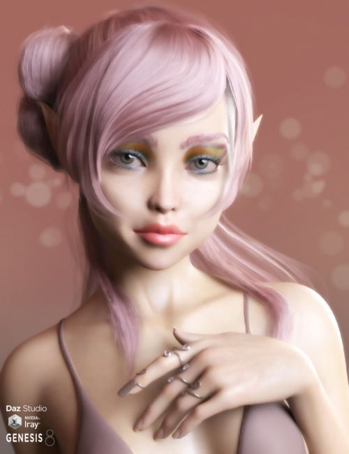 Amaryllis for Genesis 8 Female