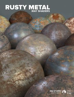 Rusty Metal - Iray Shaders