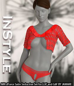 InStyle - JMR dForce Satin Seductive Set for G3F and G8F