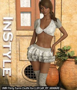 InStyle - JMR Flirty Farm Outfit for G3FG8F
