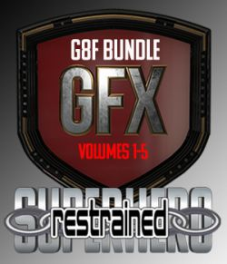 SuperHero Restrained Bundle for G8F