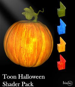 Toon Halloween Shader Pack