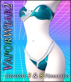 VaporWear2 for Genesis 3 & 8 Females