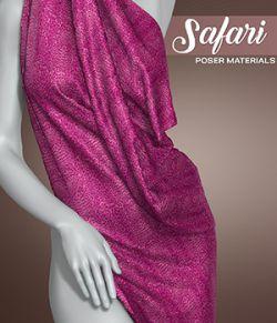 Poser Materials - Safari