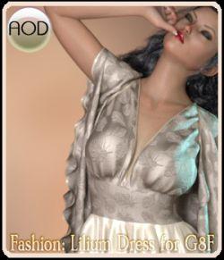 Fashion: Lilium Dress for G8F