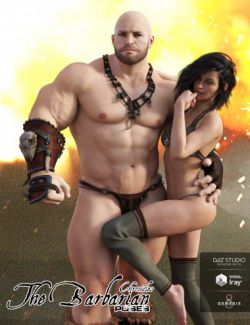 The Barbarian Chronicles Poses for The Brute 8 and Genesis 8 Male(s)