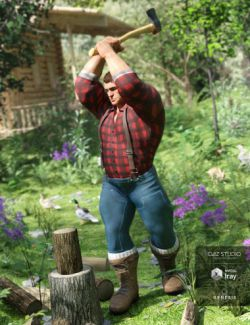 Lumberjack Outfit for Genesis 8 Male(s)