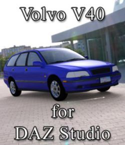 Volvo V40 - for DAZ Studio