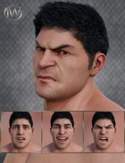 Strong Man- Expressions for Genesis 8 Male and The Brute 8