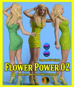 Flower Power 02 for Genesis 8 Female and Genesis 3 Female