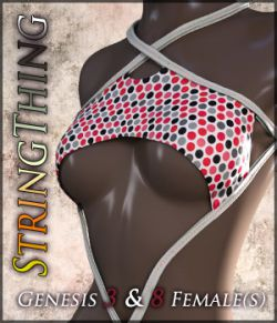 StringThing for Genesis 3 & 8 Females