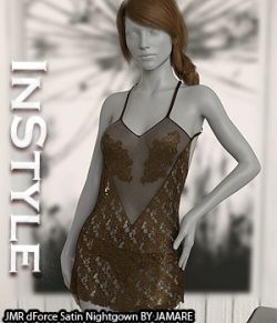 InStyle - JMR dForce Satin Nightgown