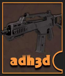 HK G36C rifle