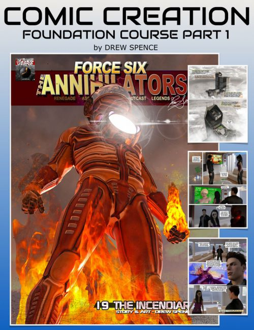 Comic Book Creation : Foundation Course Part 1
