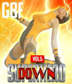 SuperHero Down for G8F Volume 5
