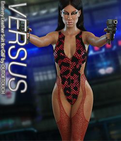 VERSUS- Entirety Leather Suit for Genesis 8 Female(s)