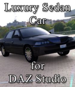 Luxury Sedan Car (for DAZ Studio)