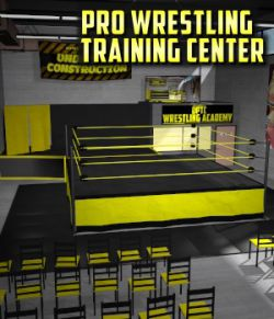 Wrestling Training Center for Poser 7+