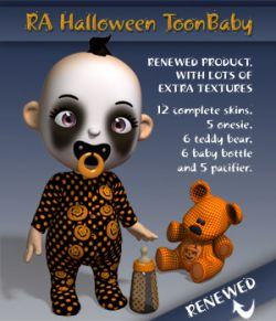 RA Halloween ToonBaby