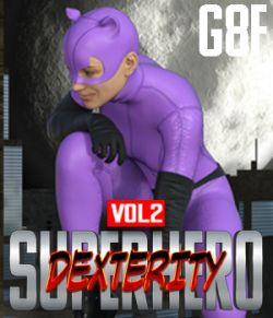 SuperHero Dexterity for G8F Volume 2